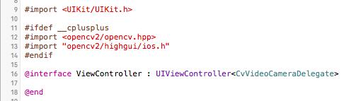 OpenCV in iOS – The Camera | Sri Malireddi